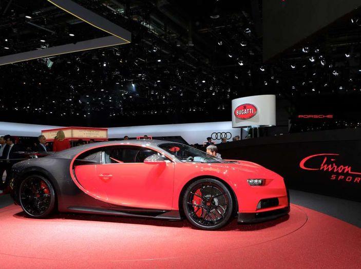 Bugatti Chiron Sport, la pista è il suo mestiere - Foto 12 di 20