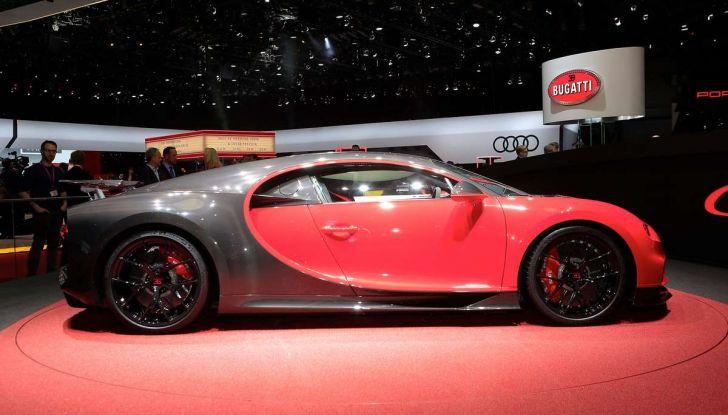 Bugatti Chiron Sport, la pista è il suo mestiere - Foto 13 di 20
