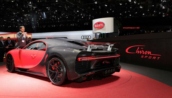 Bugatti Chiron Sport, la pista è il suo mestiere - Foto 16 di 20