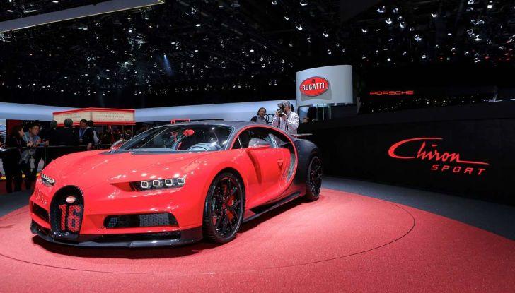 Bugatti Chiron Sport, la pista è il suo mestiere - Foto 20 di 20