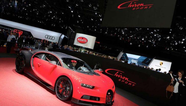 Bugatti Chiron Sport, la pista è il suo mestiere - Foto 6 di 20