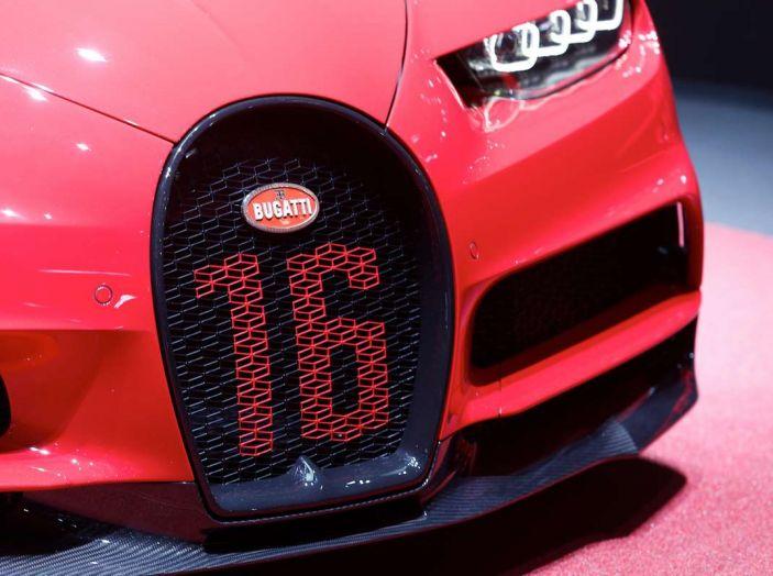 Bugatti Chiron Sport, la pista è il suo mestiere - Foto 5 di 20
