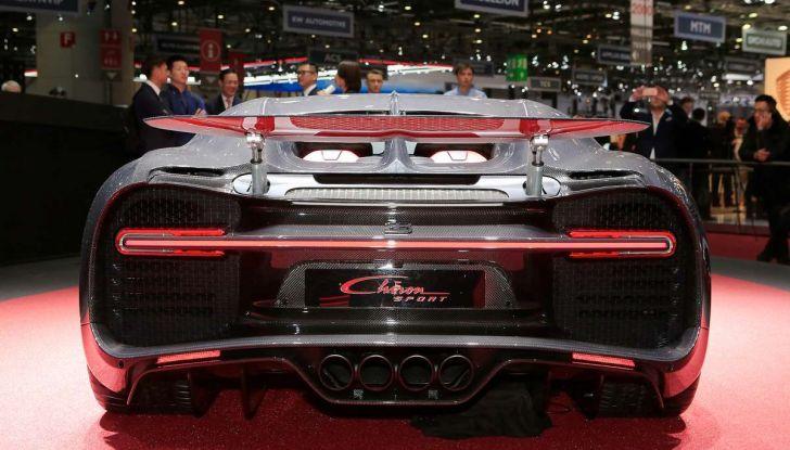 Bugatti Chiron Sport, la pista è il suo mestiere - Foto 3 di 20