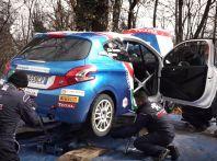 Giovani talenti del rally - il team Peugeot Sport Italia si allena in vista del Ciocco