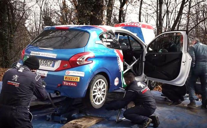 Giovani talenti del rally – il team Peugeot Sport Italia si allena in vista del Ciocco - Foto 1 di 1