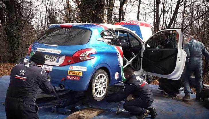 Giovani talenti del rally – il team Peugeot Sport Italia si allena in vista del Ciocco - Foto  di