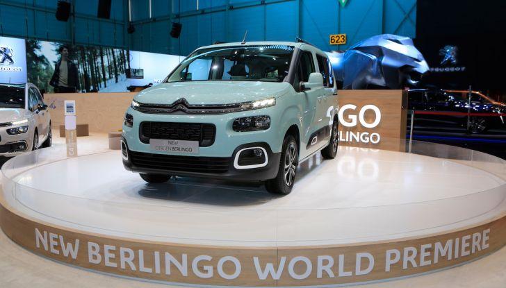 Citroën Berlingo 2018, ecco la terza generazione nel segno di design e praticità - Foto 1 di 9