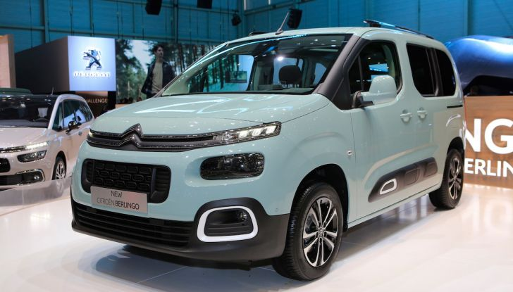 Citroën Berlingo 2018, ecco la terza generazione nel segno di design e praticità - Foto 3 di 9