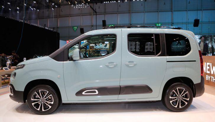 Citroën Berlingo 2018, ecco la terza generazione nel segno di design e praticità - Foto 4 di 9