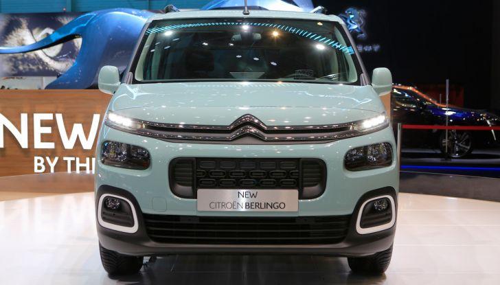 Citroën Berlingo 2018, ecco la terza generazione nel segno di design e praticità - Foto 2 di 9