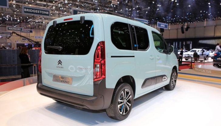 Citroën Berlingo 2018, ecco la terza generazione nel segno di design e praticità - Foto 5 di 9