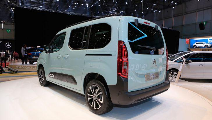 Citroën Berlingo 2018, ecco la terza generazione nel segno di design e praticità - Foto 8 di 9