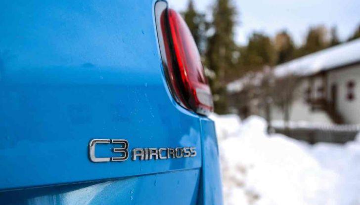 Citroën C3 Aircross: prova approfondita della trazione intelligente Grip Control - Foto 3 di 12