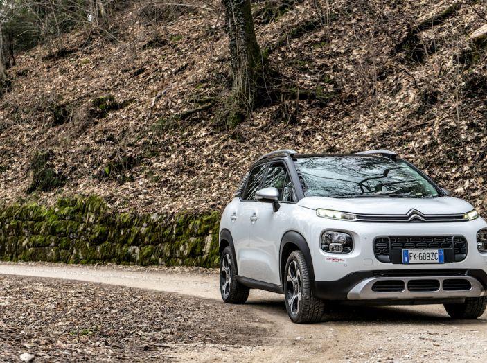 Citroën C3 Aircross, la prova su strada del 130CV: Crossover comodo e versatile - Foto 17 di 43