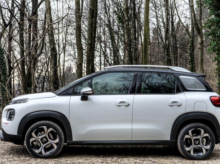 Citroën C3 Aircross, la prova su strada del 130CV: Crossover comodo e versatile - Foto 14 di 43