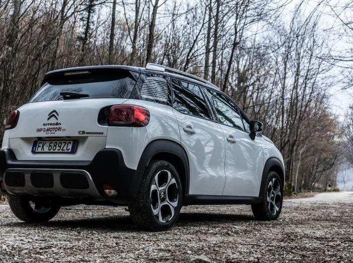 Citroën C3 Aircross, la prova su strada del 130CV: Crossover comodo e versatile