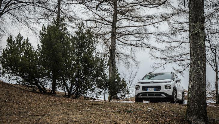 Citroën C3 Aircross, la prova su strada del 130CV: Crossover comodo e versatile - Foto 24 di 43