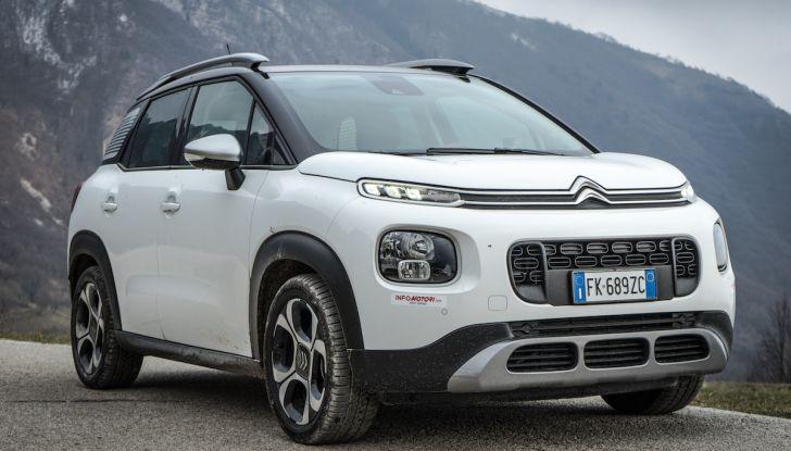 Citroën C3 Aircross, la prova su strada del 130CV: Crossover comodo e versatile - Foto 29 di 43