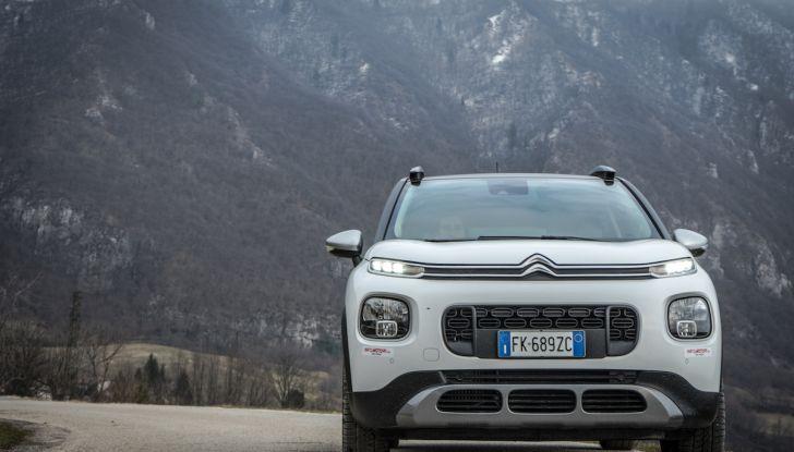 Citroën C3 Aircross, la prova su strada del 130CV: Crossover comodo e versatile - Foto 30 di 43