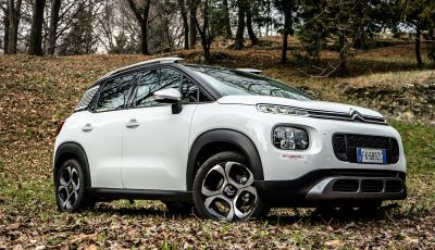 Citroën C3 Aircross: arriva l'automatico EAT6 anche sul Diesel BlueHDi 120CV