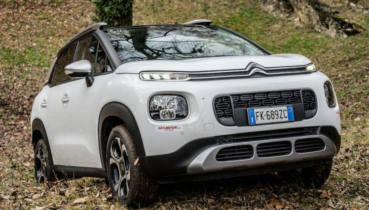 Citroën C3 Aircross, la prova su strada del 130CV: Crossover comodo e versatile - Foto 41 di 43