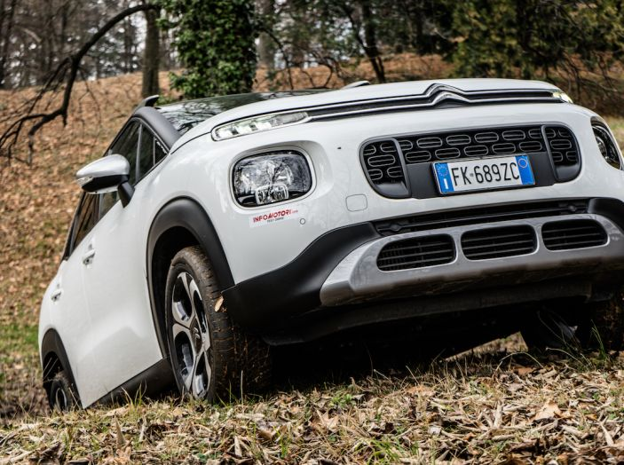 Citroën C3 Aircross, la prova su strada del 130CV: Crossover comodo e versatile - Foto 42 di 43