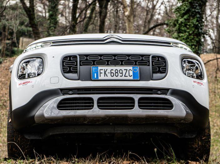 Citroën C3 Aircross, la prova su strada del 130CV: Crossover comodo e versatile - Foto 43 di 43