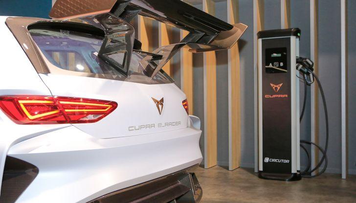 Cupra e-Racer, la prima GT 100% elettrica pronta per le corse - Foto 7 di 7