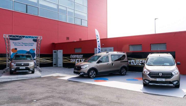 Dacia WOW, la serie speciale su Sandero, Lodgy e Dokker - Foto 3 di 10