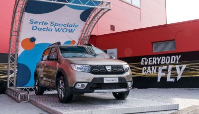 Dacia WOW, la serie speciale su Sandero, Lodgy e Dokker