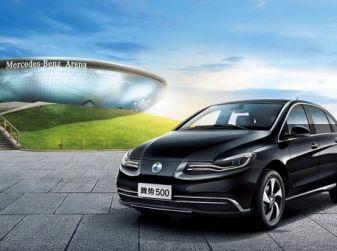 Denza 500, l'elettrica Mercedes per il mercato cinese