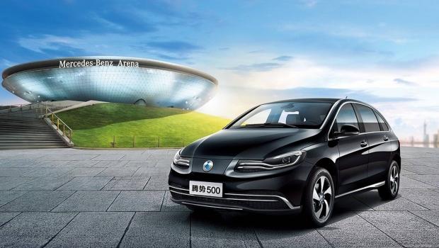 Denza 500, l'elettrica Mercedes per il mercato cinese - Foto 1 di 7