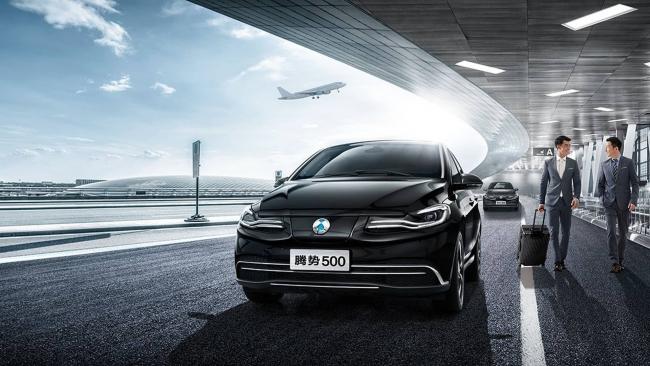 Denza 500, l'elettrica Mercedes per il mercato cinese - Foto 7 di 7