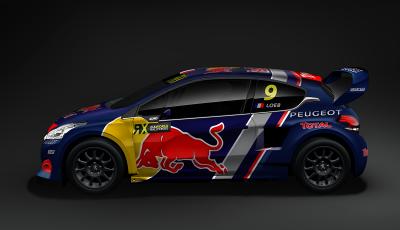 Il Team Peugeot Total punta al vertice  con la Peugeot 208 WRX 2018
