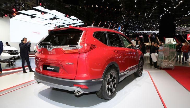 Nuova Honda CR-V 2018, l'iconico SUV di Tokyo da ora ibrido - Foto 5 di 9