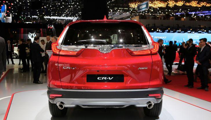 Nuova Honda CR-V 2018, l'iconico SUV di Tokyo da ora ibrido - Foto 3 di 9