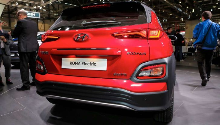 Hyundai Kona Electric 2018: tanta autonomia, dotazioni ricche e prezzi contenuti - Foto 4 di 9