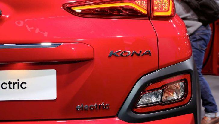 Hyundai Kona Electric 2018: tanta autonomia, dotazioni ricche e prezzi contenuti - Foto 5 di 9