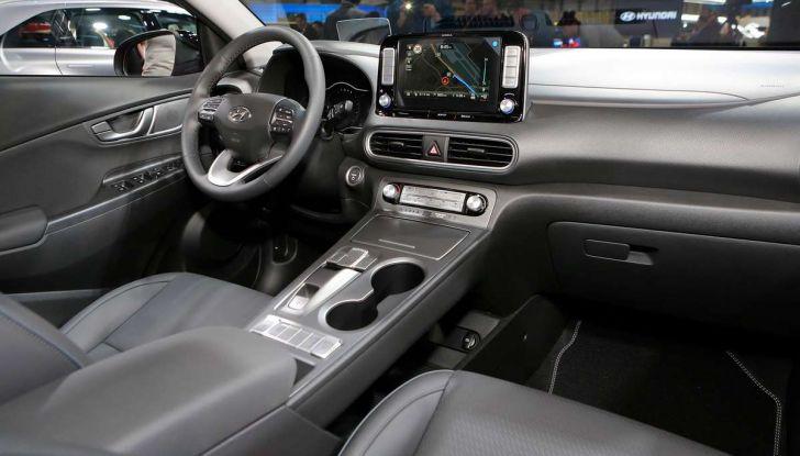 Hyundai Kona Electric 2018: tanta autonomia, dotazioni ricche e prezzi contenuti - Foto 6 di 9
