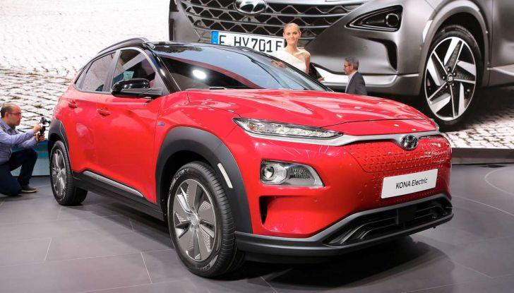 Hyundai Kona Electric 2018: tanta autonomia, dotazioni ricche e prezzi contenuti - Foto 1 di 9