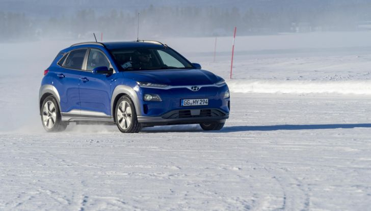 Hyundai Kona e Nexo, test estremi nel freddo della Lapponia - Foto 3 di 3
