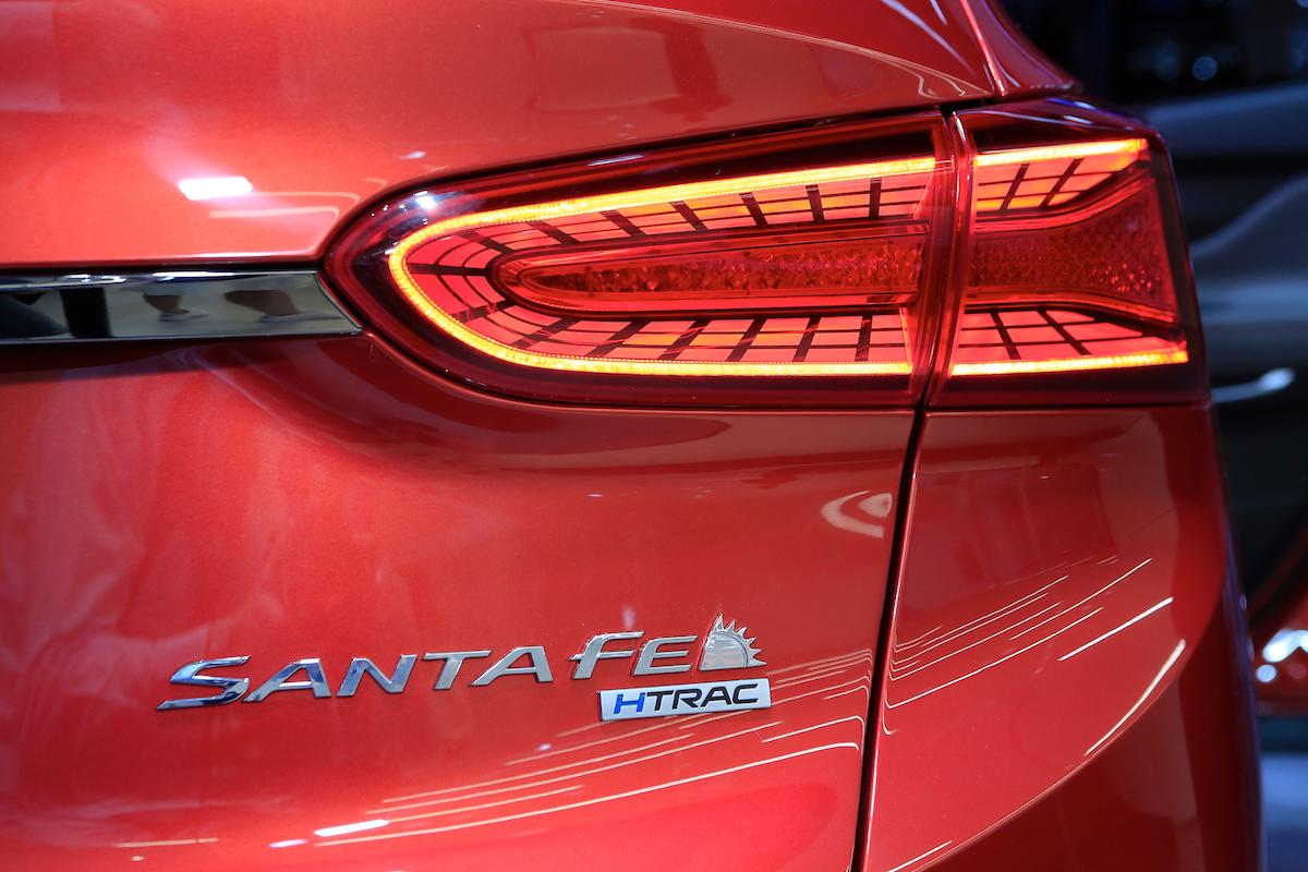Hyundai Santa Fe Detail