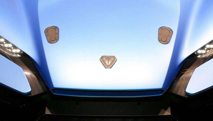 Italdesign ZeroUno Duerta, la Targa V10 da 2 milioni di euro - Foto 5 di 16