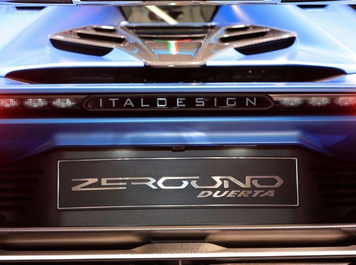 Italdesign ZeroUno Duerta, la Targa V10 da 2 milioni di euro - Foto 9 di 16