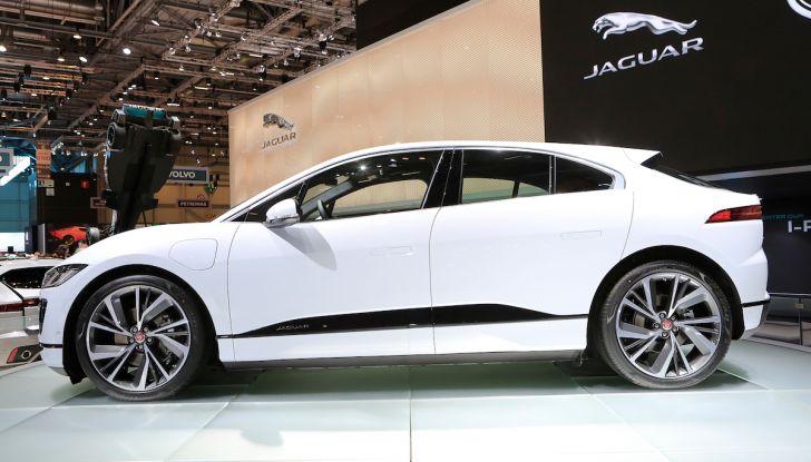 Jaguar I-PACE, prezzo e caratteristiche del crossover elettrico - Foto 23 di 25