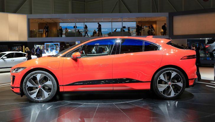 Jaguar I-PACE, prezzo e caratteristiche del crossover elettrico - Foto 13 di 25