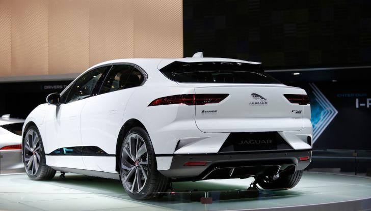 Jaguar I-PACE, prezzo e caratteristiche del crossover elettrico - Foto 17 di 25