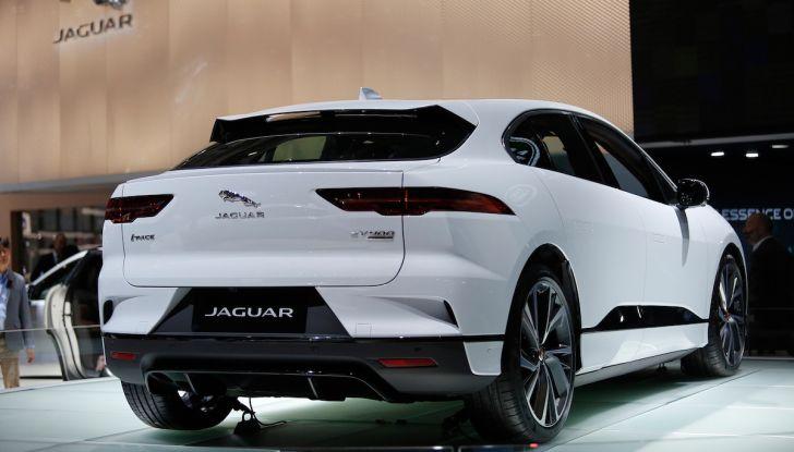 Jaguar I-PACE, prezzo e caratteristiche del crossover elettrico - Foto 16 di 25
