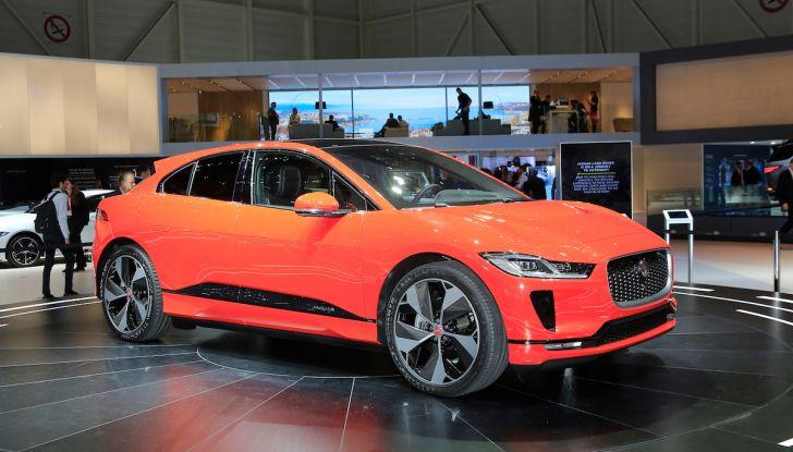 Jaguar I-PACE, prezzo e caratteristiche del crossover elettrico - Foto 10 di 25