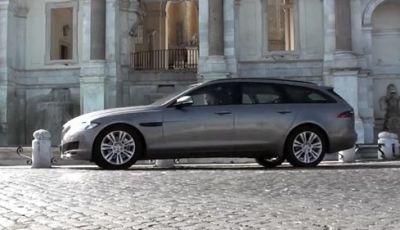 Jaguar XF Sportbrake 2.0D: il test da Roma a Venezia